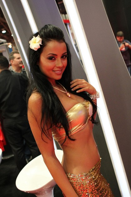 Vegas Car show model