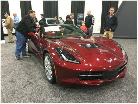 corvette dayton auto show