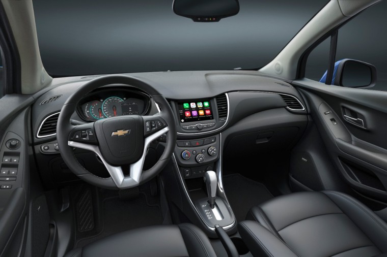 2017 Chevy Trax interior