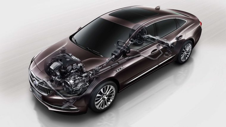 2017 Buick LaCrosse chassis