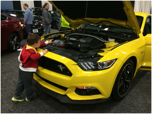 mustang dayton auto show