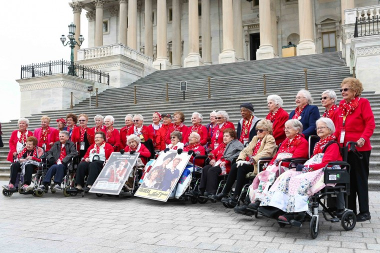 Rosie the Riveters on Capitol Hill