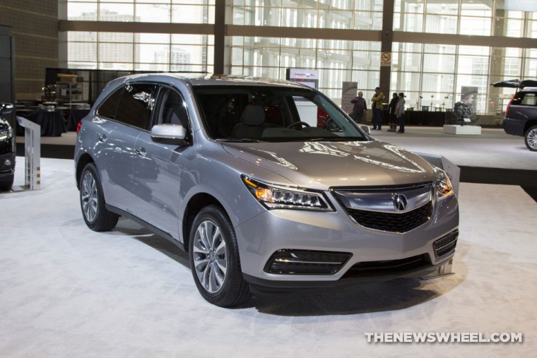 2016 Acura MDX at 2016 Chicago Auto Show