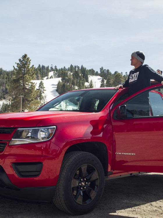 Chevy Introduces 2017 Colorado Shoreline Edition for California Beachgoers | The News Wheel
