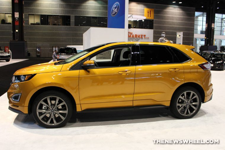 The  Ford Edge Is A Mid Size Crossover That Carries A Starting Msrp Of