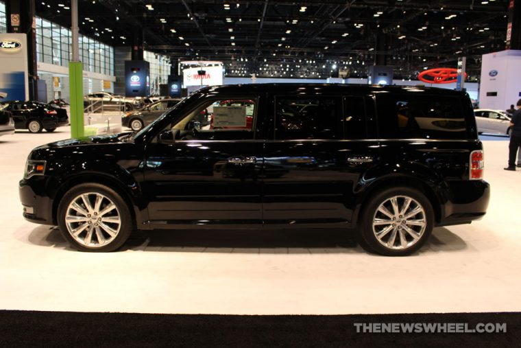 The 2016 Ford Flex is a three-row wagon that carries a starting MSRP of $29,600