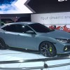 The Honda Civic Hatchback Prototype made its North American debut at the New York Auto Show on March 22, 2016