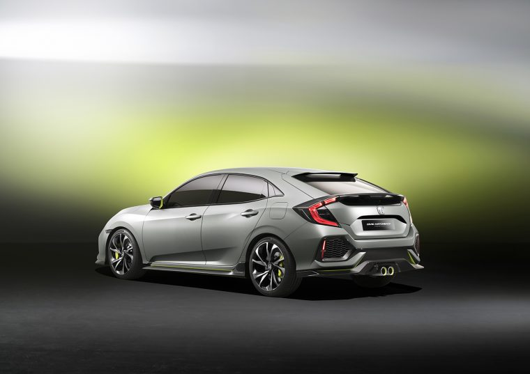 2016 Honda Civic Hatchback Prototype coming to New York International Auto Show