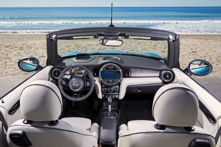 Check out the 2016 MINI Convertible's interior styling and features