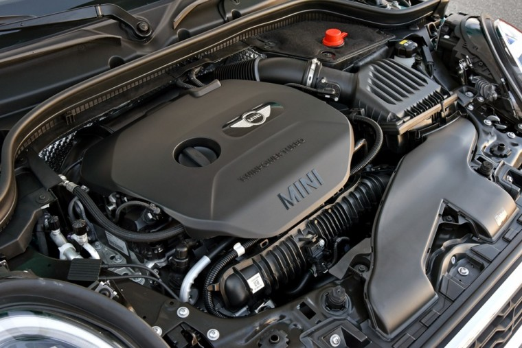 2016 MINI Convertible engine