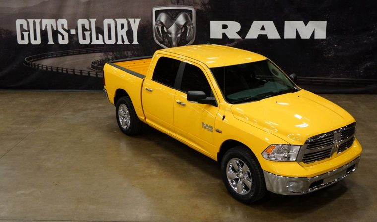 2016 Ram 1500 Yellow Rose of Texas Edition