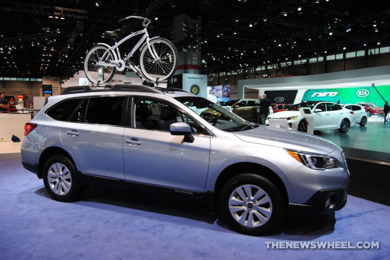2016 Subaru Outback sales June