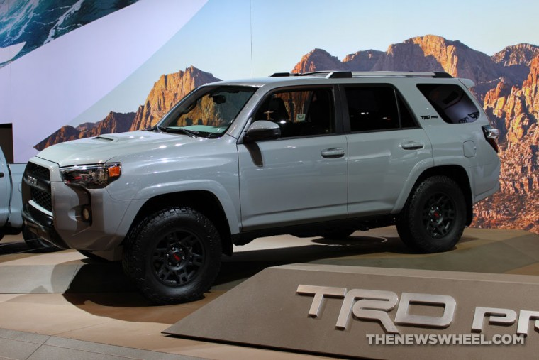 The 2016 Toyota 4Runner TRD Pro at the Chicago Auto Show