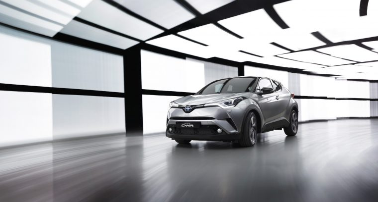 2016 Toyota C-HR production model geneva motor show