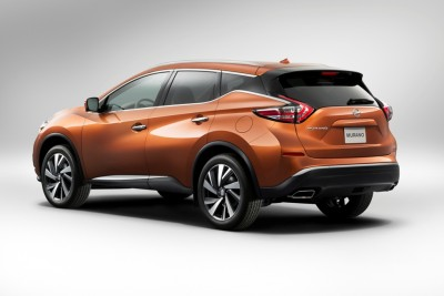 2016 Nissan Murano back rear