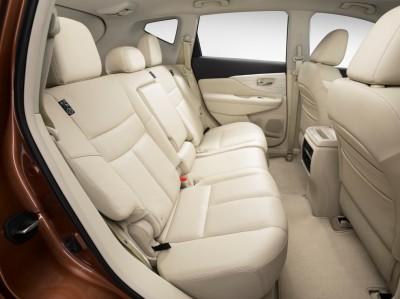 2016 Nissan Murano back seat