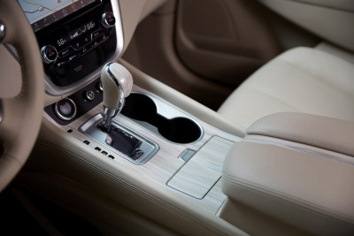 2016 Nissan Murano gear shift