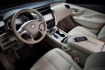 2016 Nissan Murano Interior