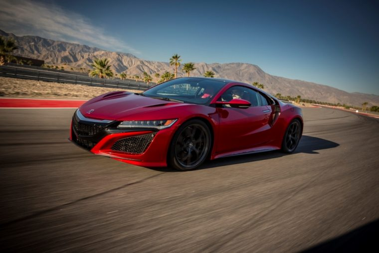 The 2017 Acura NSX features a starting MSRP of 156,000 and comes with four motors that combine to produce 573 horsepower