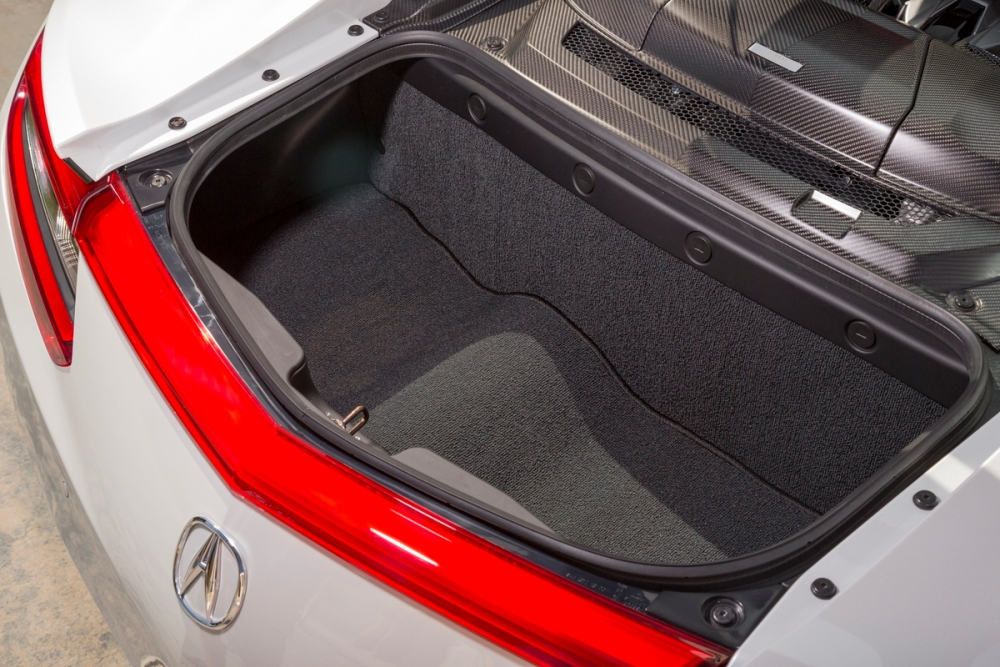 2017 Acura NSX trunk space | The News Wheel