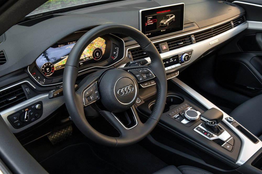 2017 audi a4 cockpit the news wheel. Black Bedroom Furniture Sets. Home Design Ideas