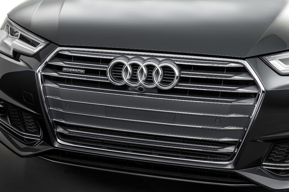 2017 Audi A4 four rings | The News Wheel