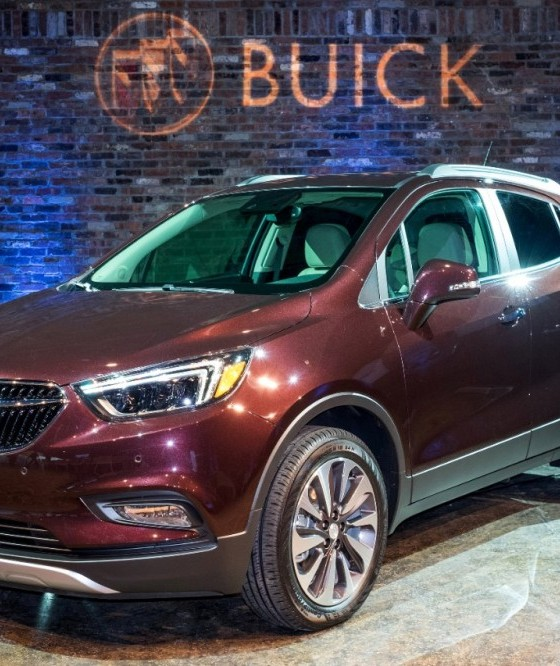Buick Suv Small: The 2017 Buick Encore Will Feature A Rejuvenated Exterior