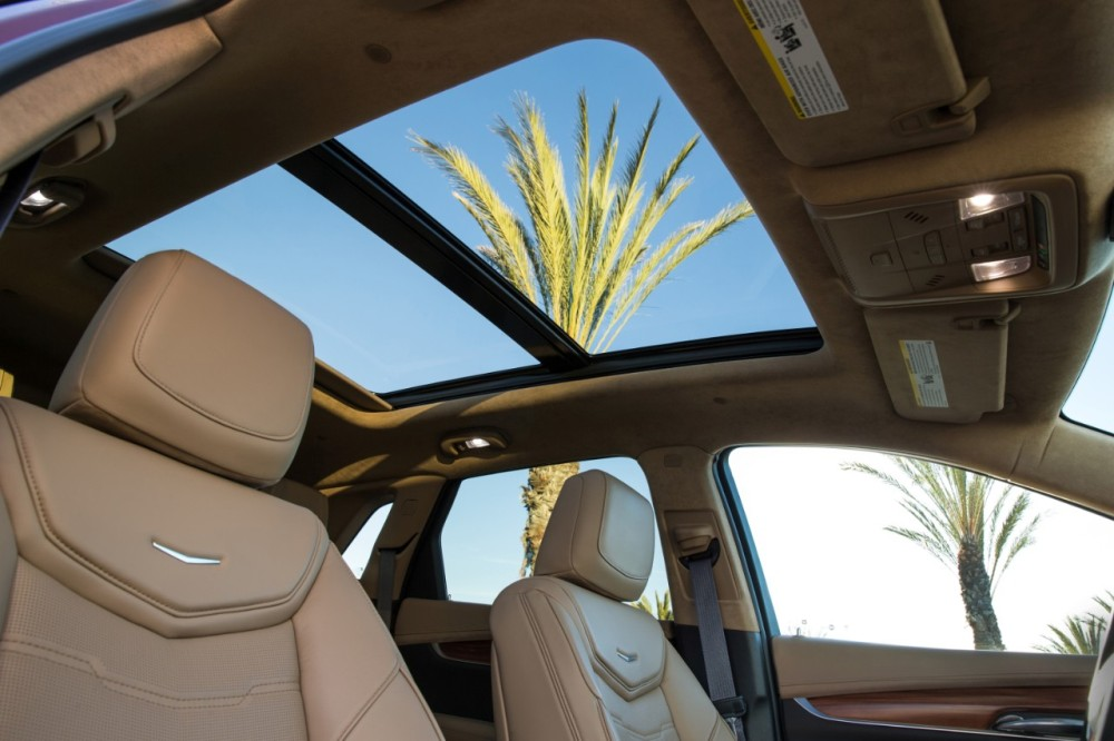 2017 Cadillac XT5 sunroof | The News Wheel