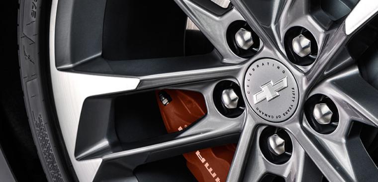 2017 Camaro 50th Anniversary Edition wheels
