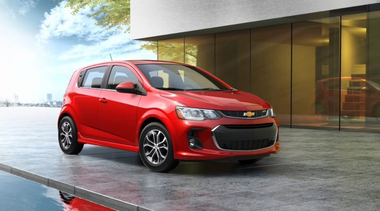 2017 Chevy Sonic hatchback