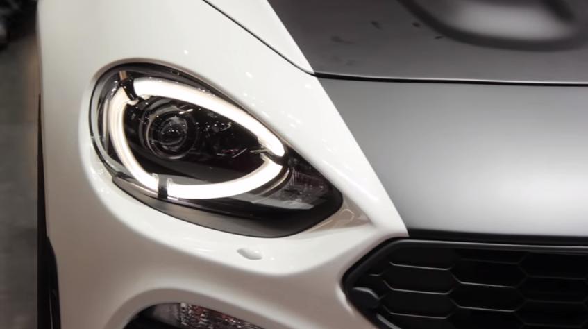 Fiat Abarth Spider Headlight