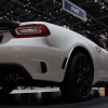 The high-performance 2017 Fiat Abarth 124 Spider made its official debut at the Geneva Auto Show
