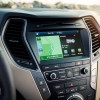 2017 Hyundai Santa Fe Model Overview console screen