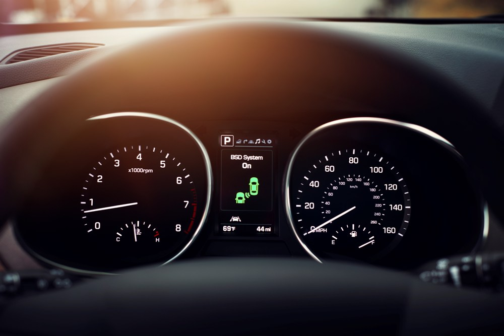 2017 Hyundai Santa Fe Sport >> 2017 Hyundai Santa Fe Sport speedometer | The News Wheel