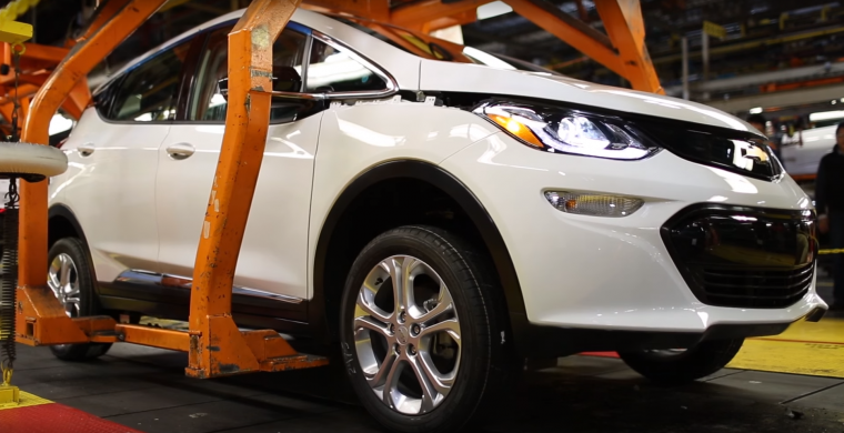 2017 chevy bolt pre-production video
