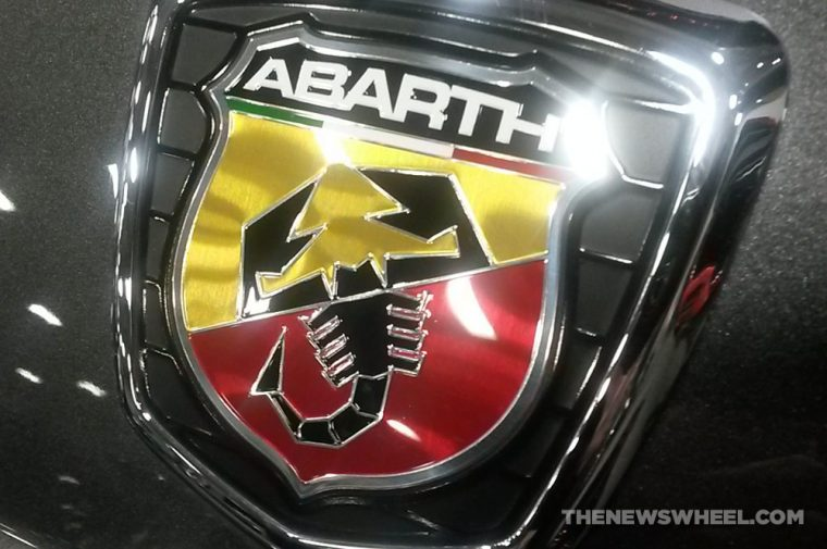 Abarth scorpion badge logo