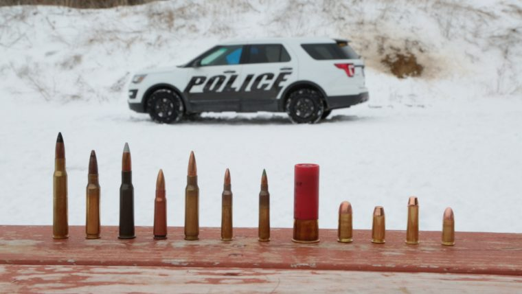 Ford Interceptor Utility stands up to armor-piercing rounds