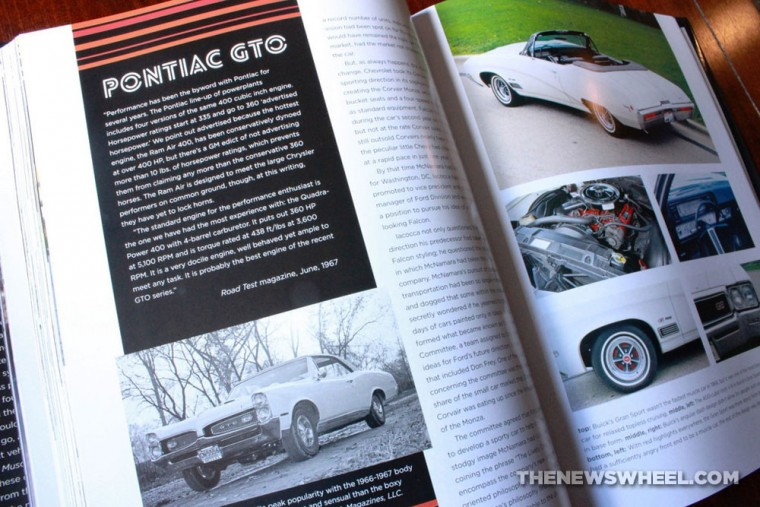 American Muscle Cars Book review Motorbooks review page spread