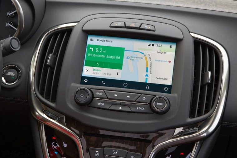 The 2016 Buick Lacrosse and Regal have received updates that make them compatible with Android Auto