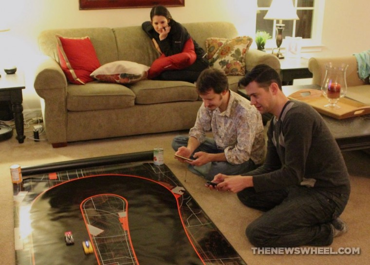 Anki DRIVE remote controlled robotic racing cars review experience