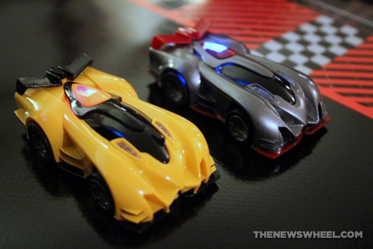 Anki DRIVE remote controlled robotic racing cars review starter slot cars