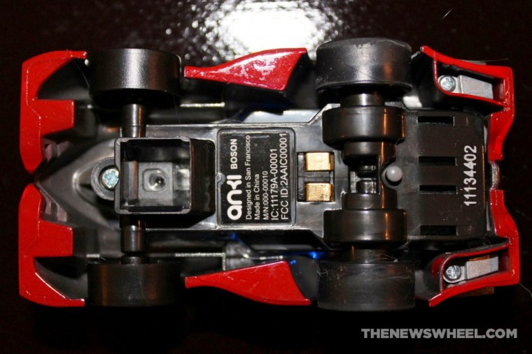 Anki DRIVE remote controlled robotic racing cars review underside
