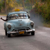 Cuban Classic Car Driving