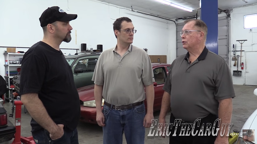 """Eric The Car Guy's """"Fixing It Forward"""" Tackles 2003 Nissan"""
