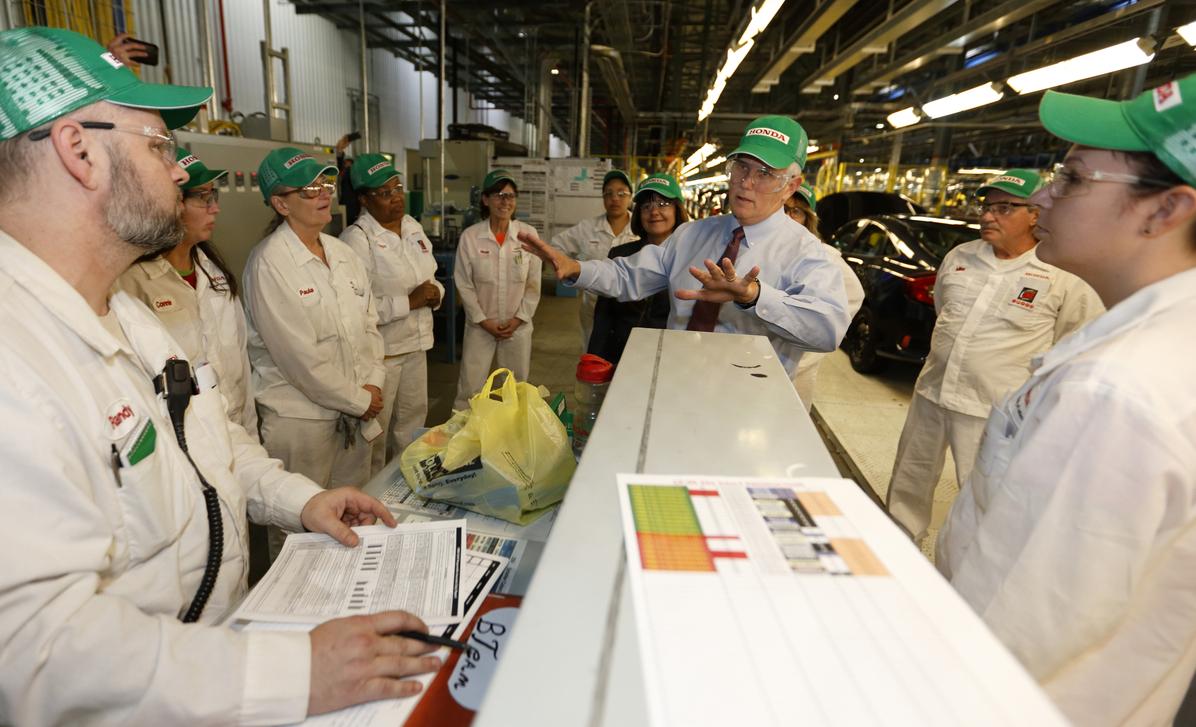 Honda Adding 100 New Jobs And 52 Million To Indiana Plant