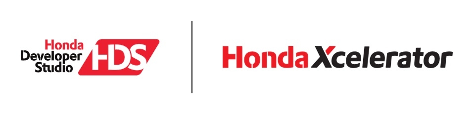 Honda Developer and Honda Xcelerator logos