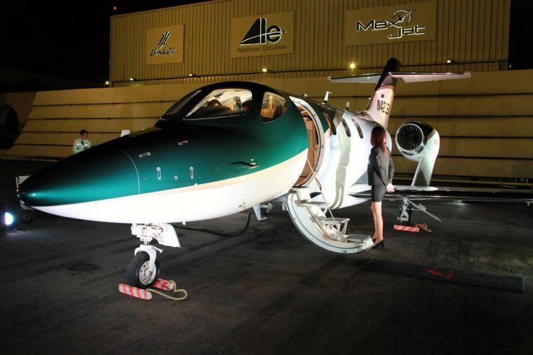 The HondaJet arrives in Mexico for the 2016 Aero Expo