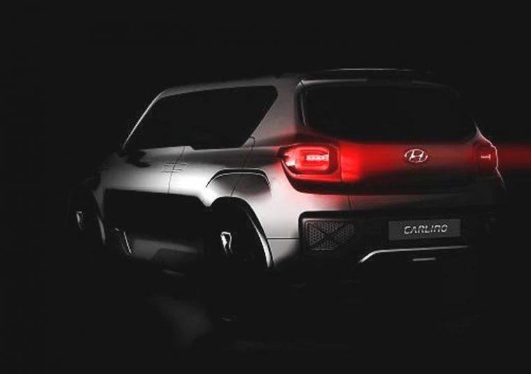 Hyundai Carlino concept art Dehli Auto Expo
