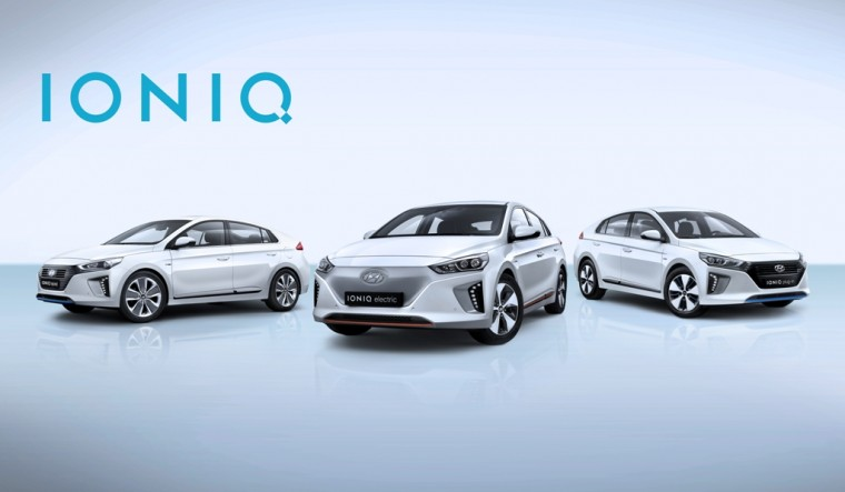 Hyundai Ioniq debut at Geneva Motor Show reveal official