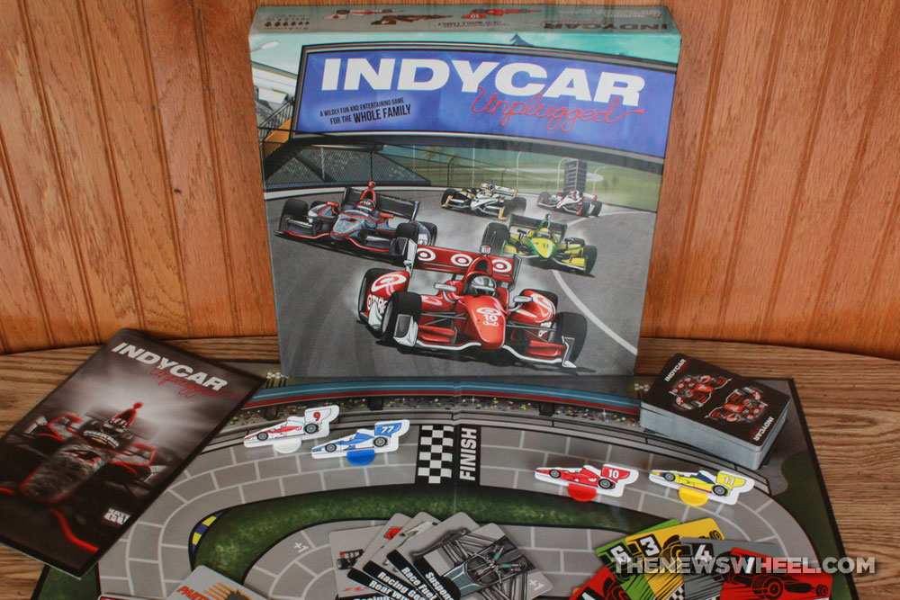 Indycar Unplugged Motor Racing Board Game Review The